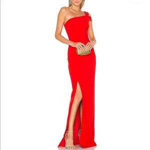Likely Maxson Red Gown